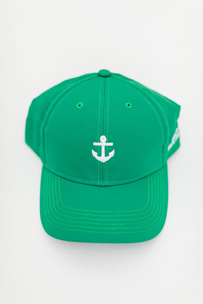Peace Within Anchor Hat , Kelly Green
