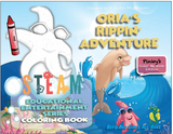Orias Rippin Adventure - Coloring Book