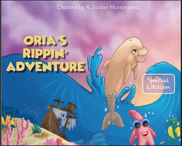 Orias Rippin Adventure - Hard Cover Copy