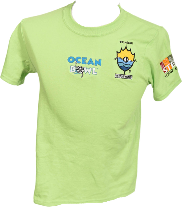 Champions Edition - Seaweed Green Ocean Bowl T-shirt