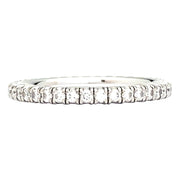 "Alliance Cartier ""Etincelle"" en or blanc, diamants."