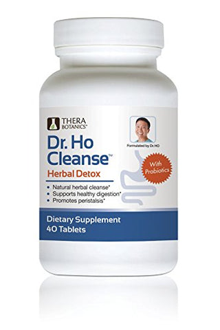 Dr. Ho Herbal Detox with Probiotics Reduce Toxins and Impurities Helps Cleanse Your Colon
