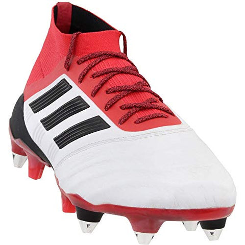 adidas Mens Predator 18.1 Soft Ground Leather Soccer Casual Cleats
