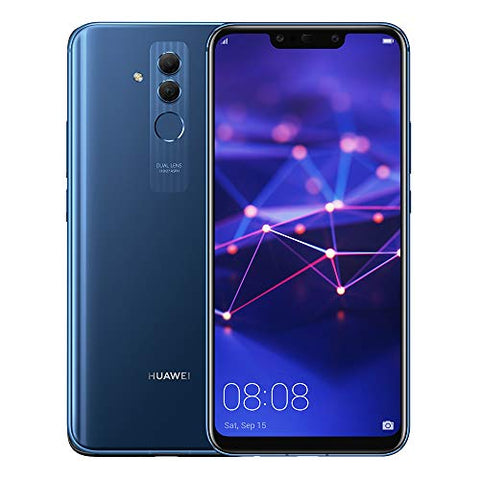 "Huawei Mate 20 Lite SNE-LX3 64GB (Factory Unlocked) 6.3"" FHD (International Version) (Sapphire Blue)"