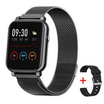 Gandley Smart Watch Fitness Tracker with Sleep Heart Rate Monitor IP68 Waterproof Smart Sport Watch GPS Activity Tracker Female Physiological Step Counter for Women Men Kids Android iOS Phone