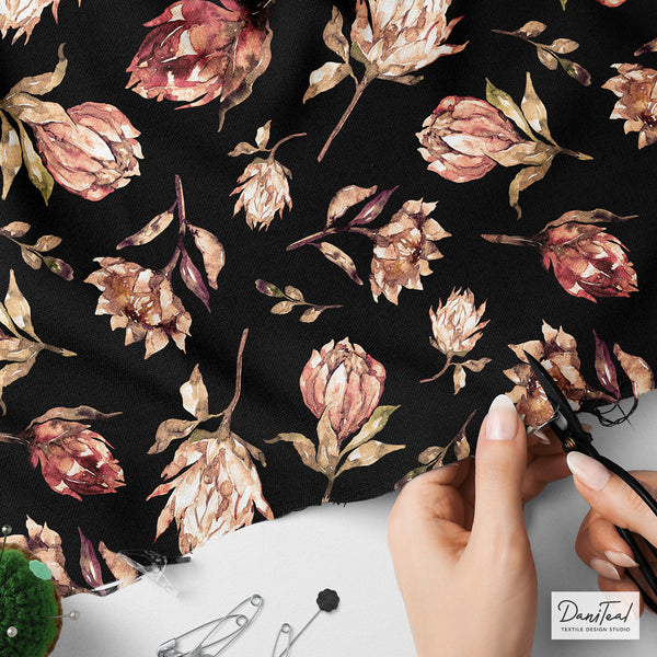 Protea Flower Hand-painted (Exclusive)