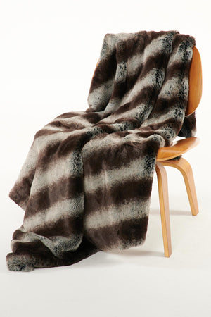 The George Lux Faux Fur Blanket