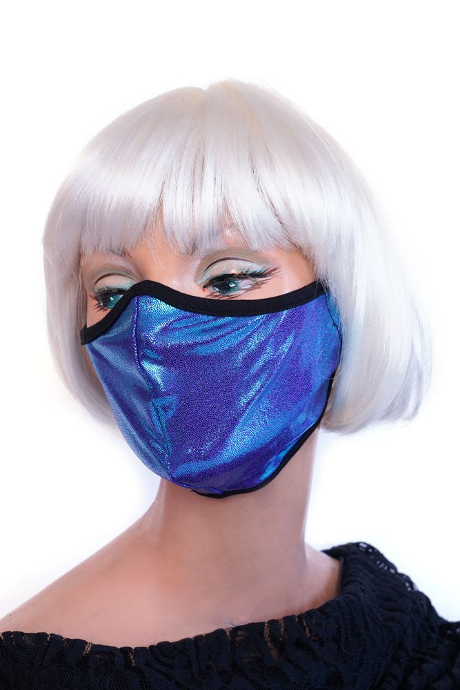 Neon Blue Mask