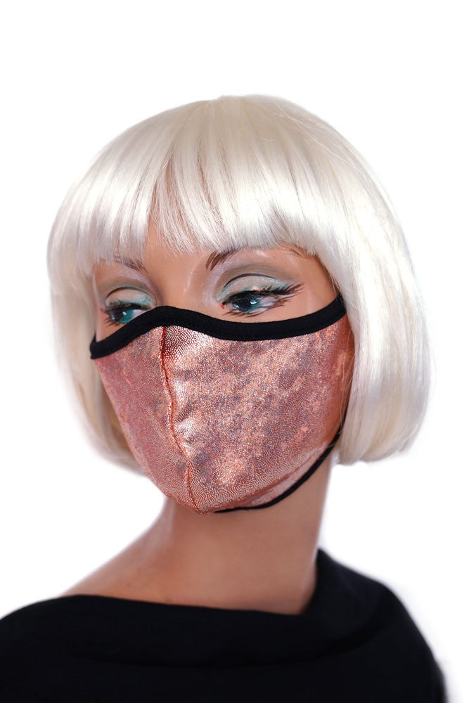 Peachy Sparkle Mask