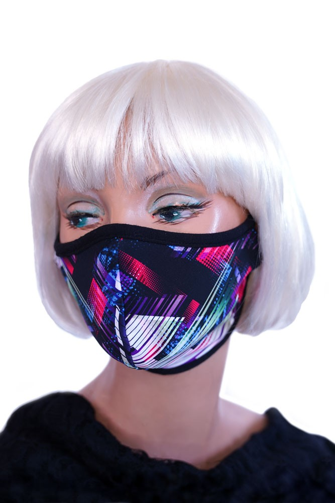 Purple Digi Mask