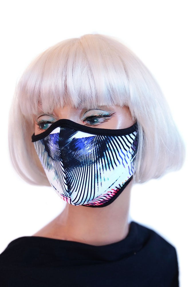 Digital Jungle Mask
