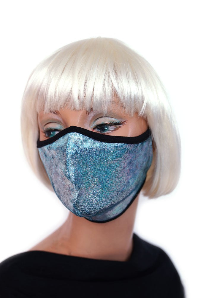 Blue Sparkle Mask
