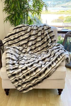 The Harley Lux Faux Fur Blanket