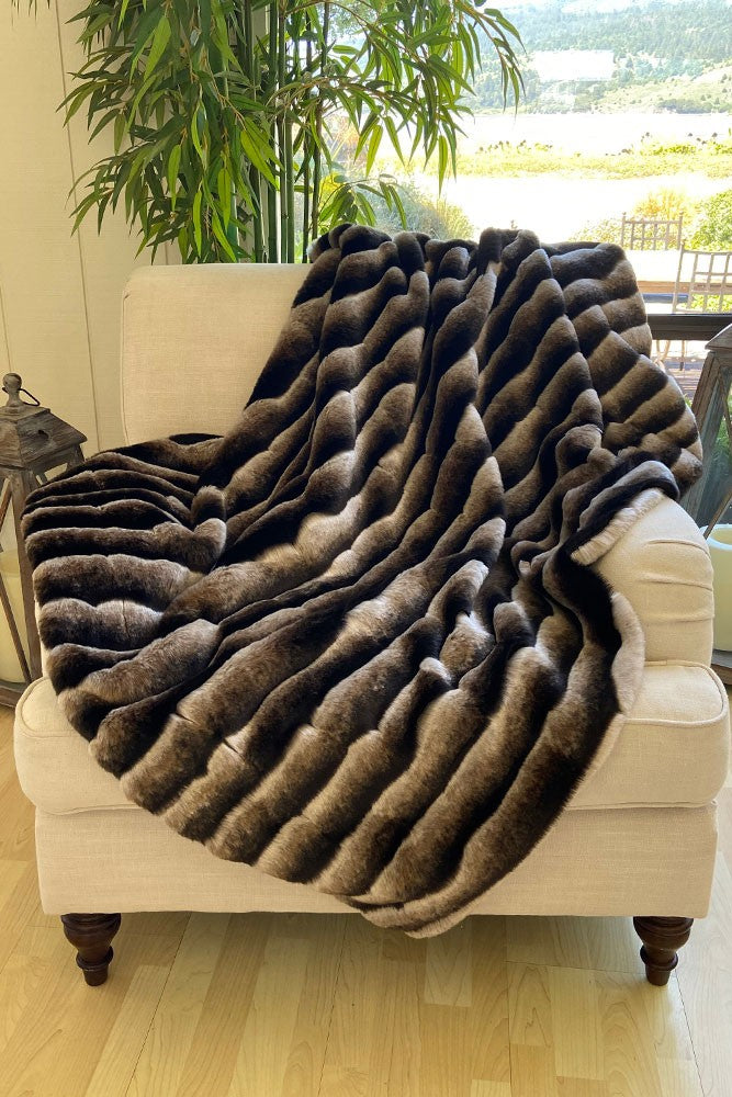 The Jasper Lux Faux Fur Blanket