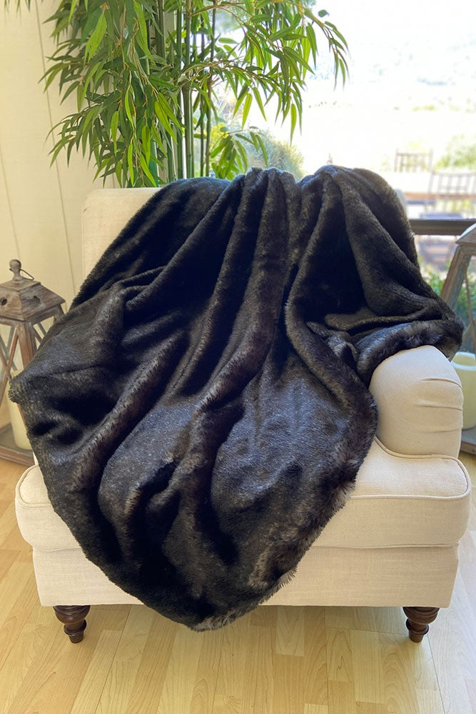 The Cosmo Lux Faux Fur Blanket