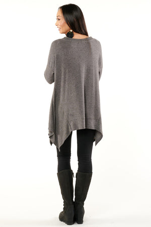 Easy Core Grey Lounging Top
