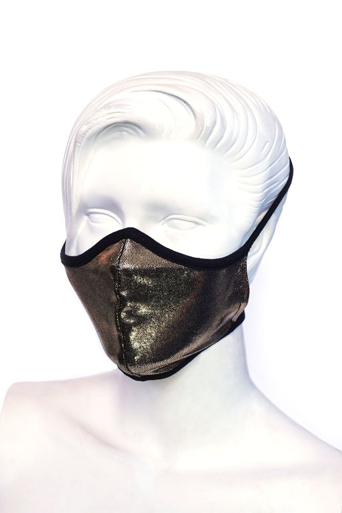 Solid Gold Kids or Small Adult Mask