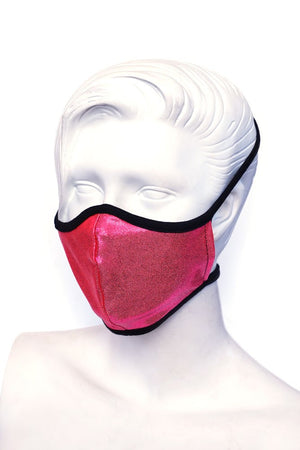 Neon Pink Kids or Small Adult Mask