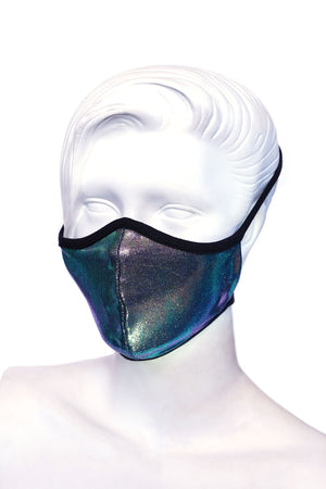 Peacock Kids or Small Adult Mask
