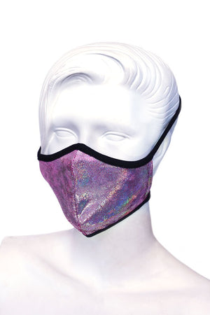 Pink Sparkle Kids or Small Adult Mask