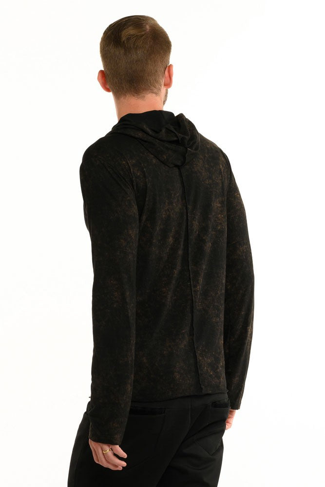 Dark Copper Long Sleeve Men's Top
