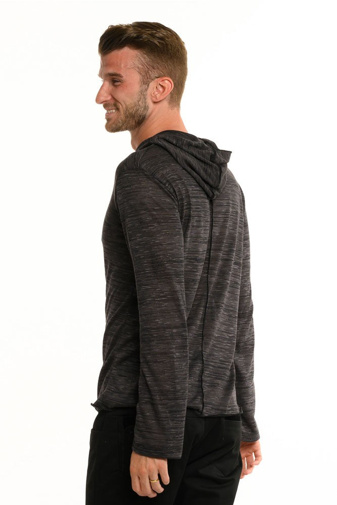 Slate Grey Feather Weight Long Sleeve Men's Top