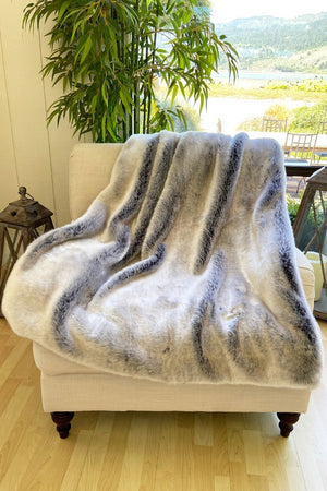 The London Lux Faux Fur Blanket