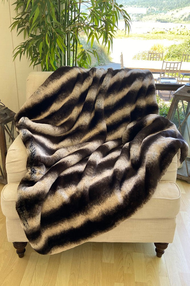 The Bailey Lux Faux Fur Blanket