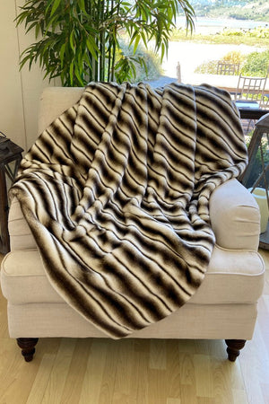 The Lola Lux Fuar Fur Blanket