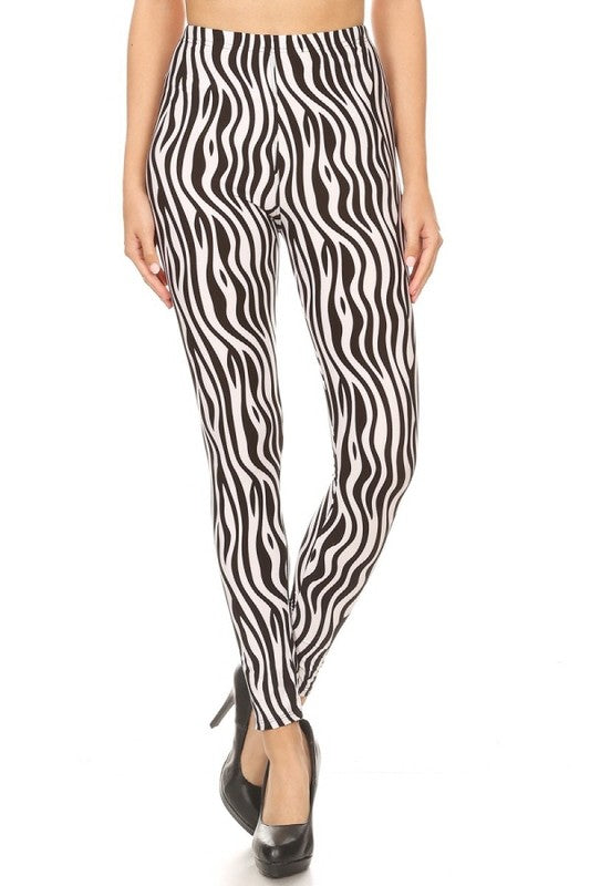 Straight up Zebra