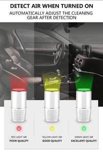 TINTON LIFE Air Purifier HEPA Carbon Filter Freshener Anion Odor Eliminator Remove Odor Smoke for Car Home Desktop - Saniglo