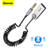 Aux Bluetooth Adapter Cable 3.5mm Aux Jack, Audio Music Transmitter