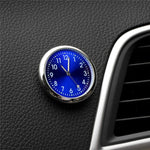Car Clock, Stick-On Watch Ornament. Car Accessories