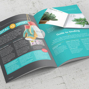 A5 Folded & Stapled Booklets, 128gsm Satin