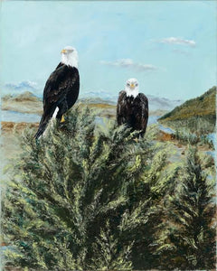 ABOVE THEIR DOMAIN-High-resolution Giclee Print