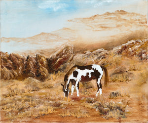 GRAZING-original oil painting on canvas