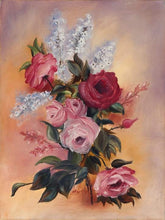 Load image into Gallery viewer, INSPIRED BY THE ROSE-original oil painting on canvas