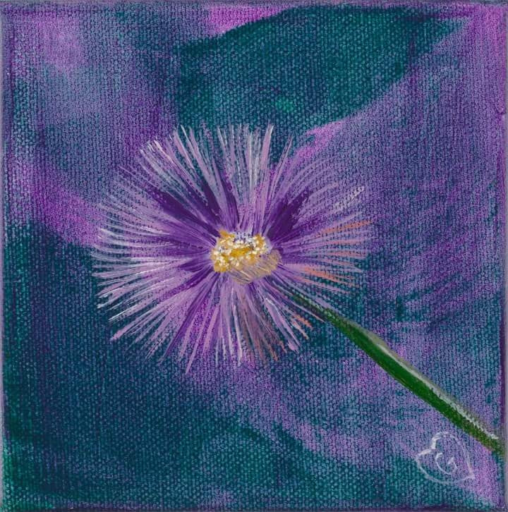 PURPLE SHASTA-High Resolution Giclee Print