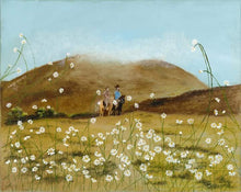 Load image into Gallery viewer, RIDE THROUGH THE DAISIES-Acrylic Print