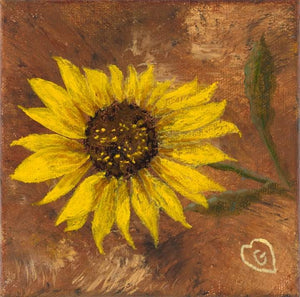SUNFLOWER-Gallery wrapped canvas