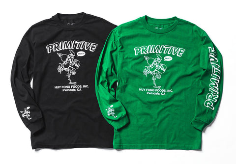 Primitive x Huy Fong Foods 2.0 collection is now available. Browse the  collection now and get saucy before they re all gone! 029bb96807a4