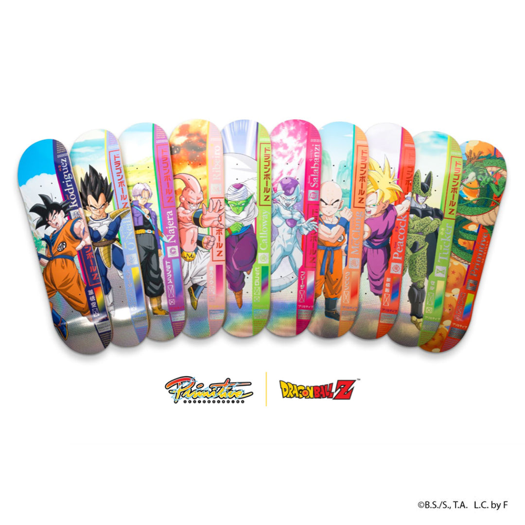 Dragon Ball Z x Primitive Skate