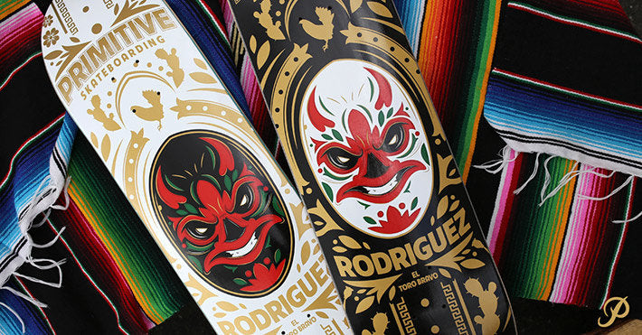 Paul Rodriguez Luchador Decks and Tees Available Now!