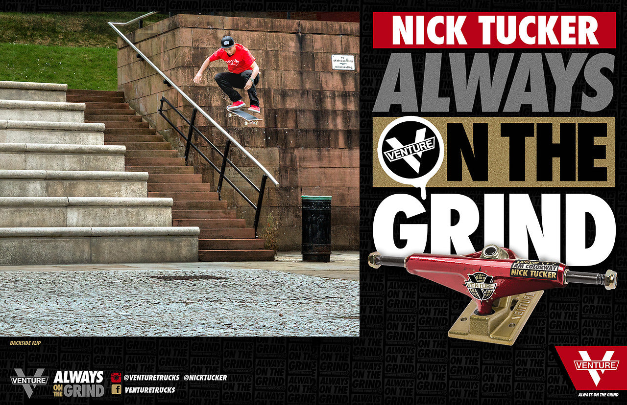 Nick Tucker x Venture Trucks Coming Soon..
