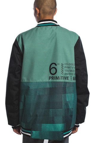 Primitive Reborn Windbreaker Burgundy Jacket