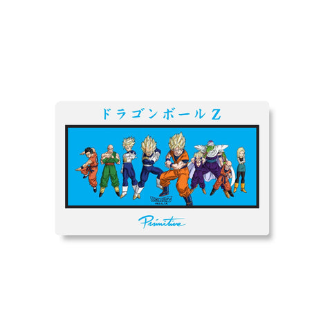DBZ HEROES STICKER