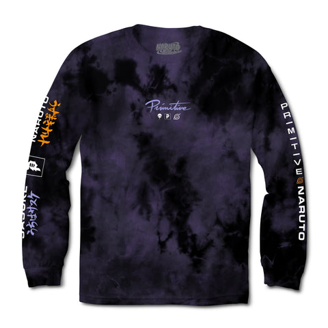 POWERS WASHED TIE-DYE L/S TEE