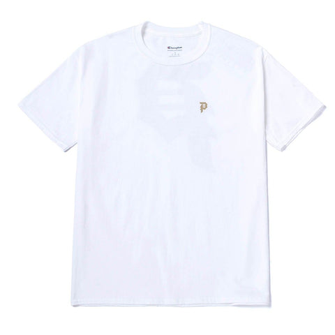 DIRTY P GOLD REFLECTIVE TEE