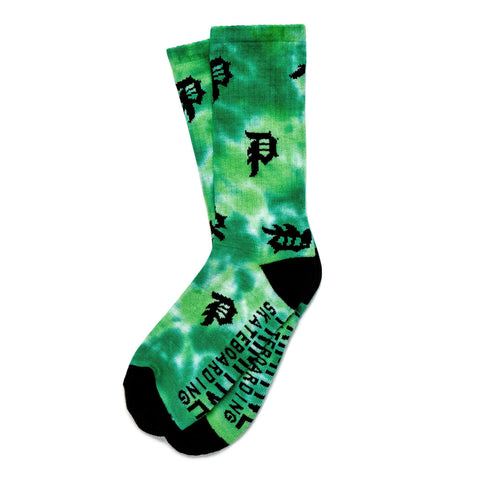 DIRTY P SCATTER P CREW SOCK