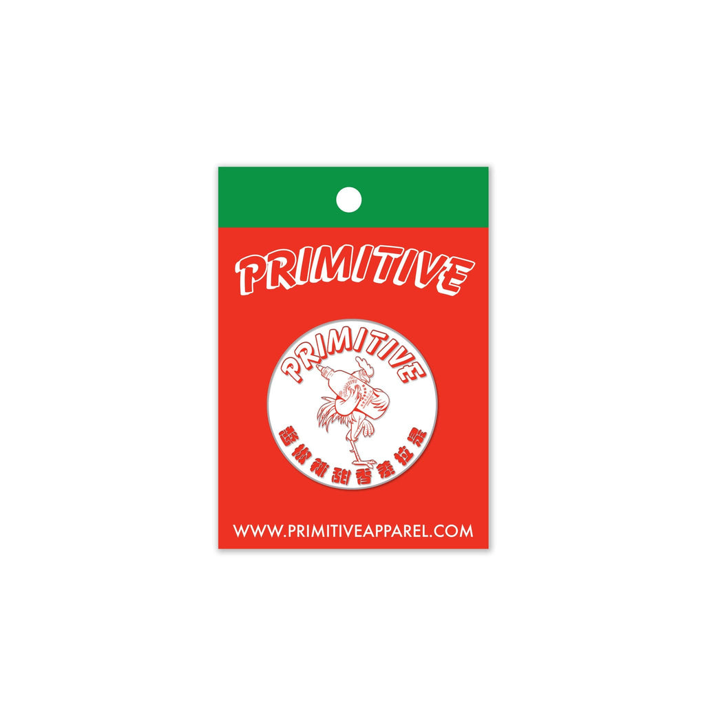 PRIMITIVE x HUY FONG FOODS LAPEL PIN